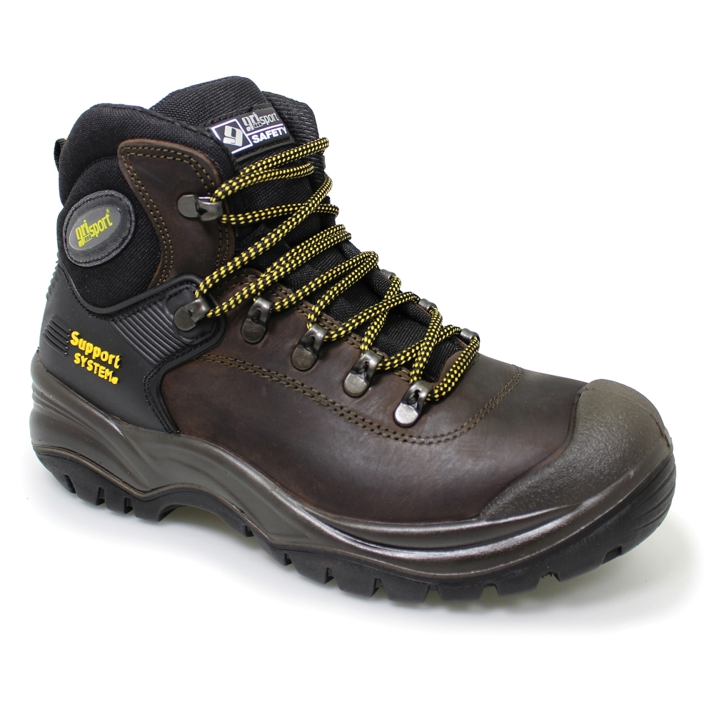 Grisport Contractor Brown S3 Hro Hi Safety Boot Best Selling