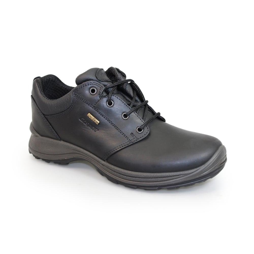 68342ecdde9b3 Exmoor Black Trekking Shoe - Walking Shoes from Grisport UK