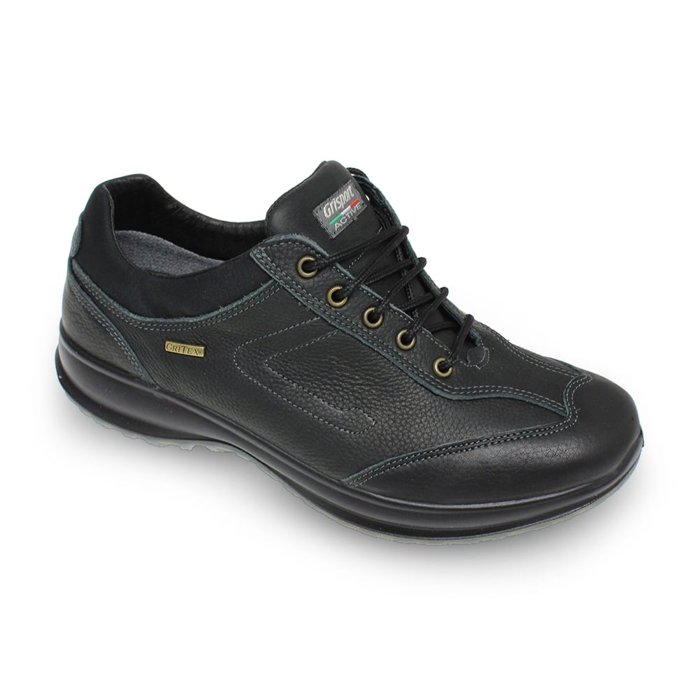 Walking Shoes With Leather Upper