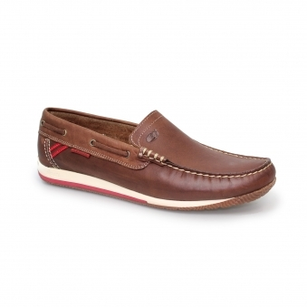 Juno Leather Boat Shoe