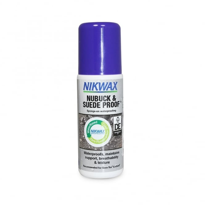 Nikwax Nubuck & Suede Proofer 125ml Sponge Applicator