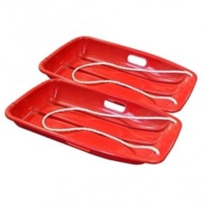 Small Red Sledge Twin Pack