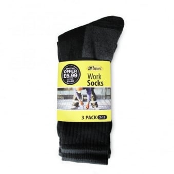 Work Socks 3-pack